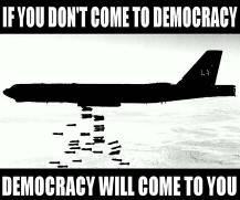 democracy and bombs