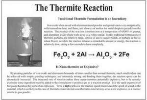 the thermite reaction