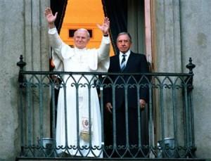 Pinochet e il Papa