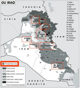 Basi Usa in Iraq